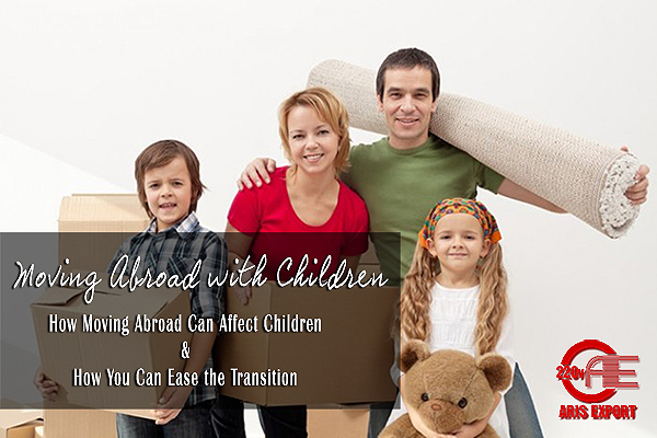 moving abroad with children Aris moving
