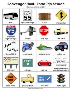 family road trip ideas printable