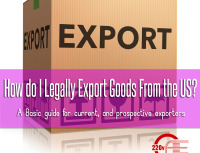 how to legally export goods