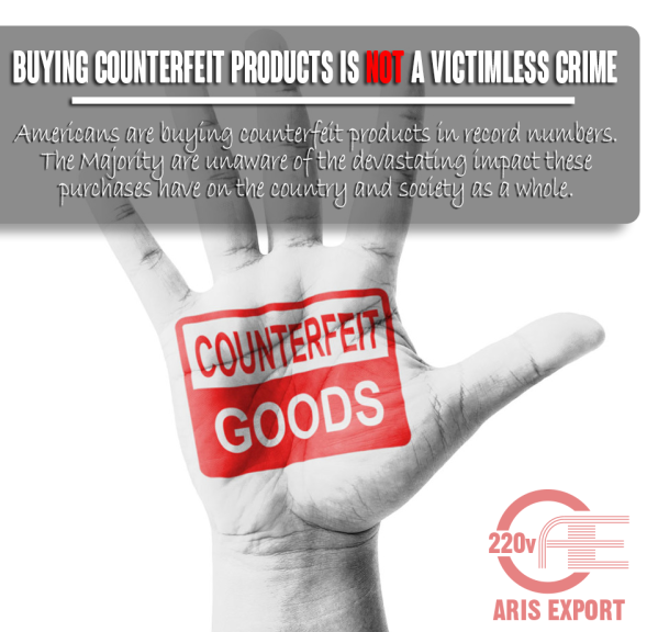 counterfeit items not a victimless crime